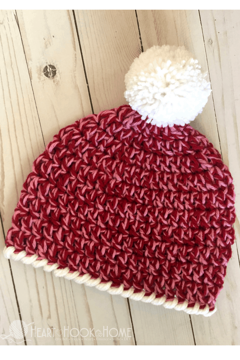Crochet Beanie Pattern J Hook : Child Size Easy Peasy 30-Minute Beanie Free Crochet Pattern