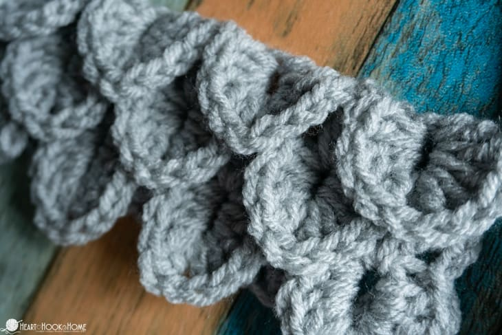 dragon scales crochet tutorial