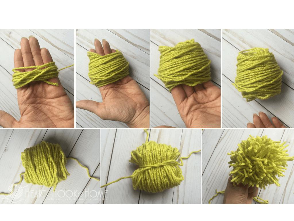 Diferentes Métodos de Fazer Pom Poms