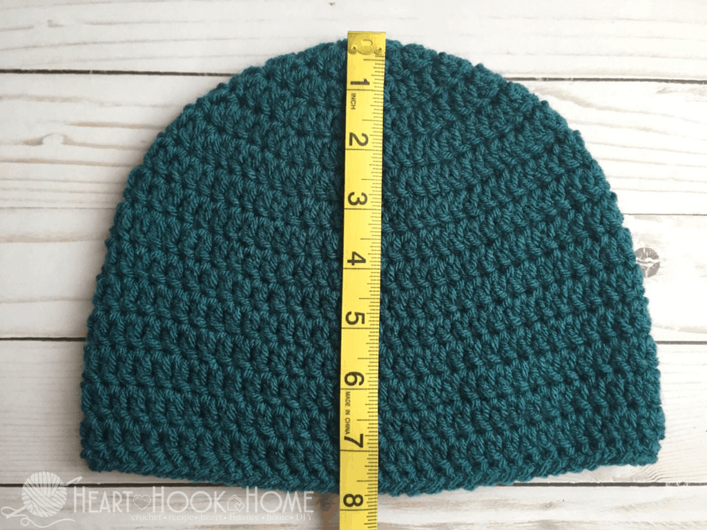 How To Size Crochet Beanies Master Beanie Crochet Pattern