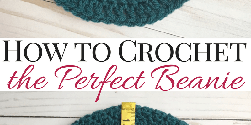 How to Size Crochet Beanies + Master Beanie Pattern