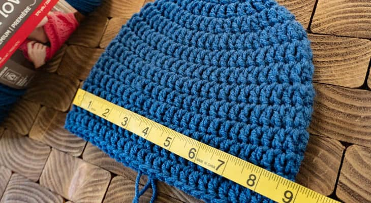 How to Size Crochet Beanies