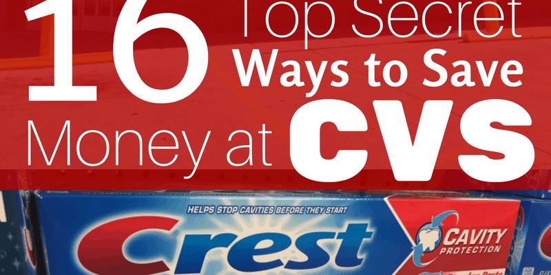 16 Ways to Save Money Shopping at CVS