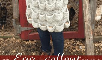 An Egg-cellent Apron: Free Crochet Pattern