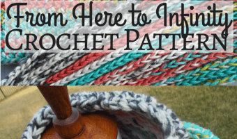 From Here to Infinity Scarf Crochet Pattern