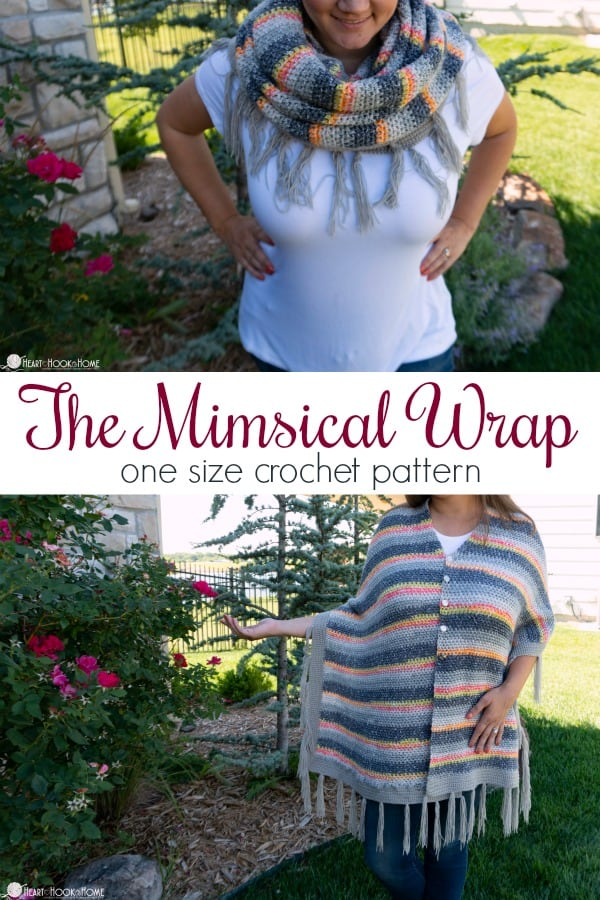 Mimsical Wrap crochet pattern