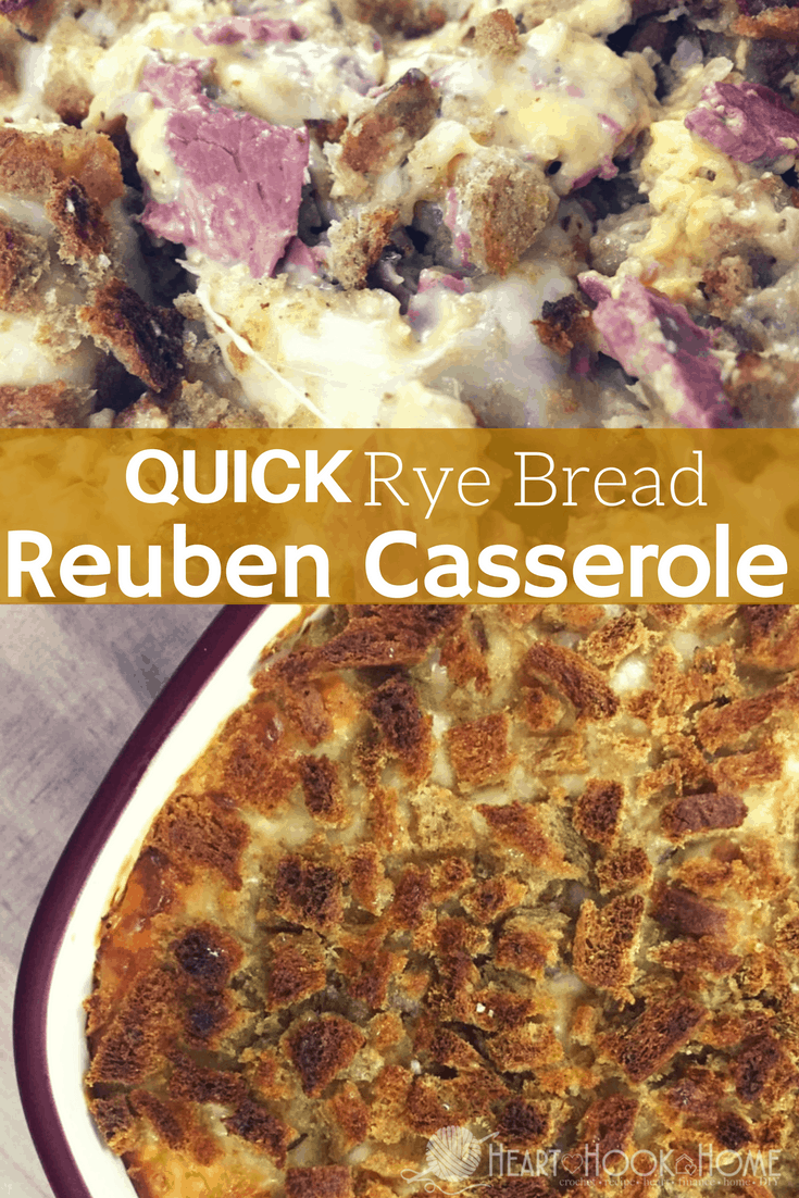 Quick Rye Bread Reuben Casserole Recipe
