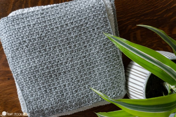 how to make the Moss Stitch Crochet