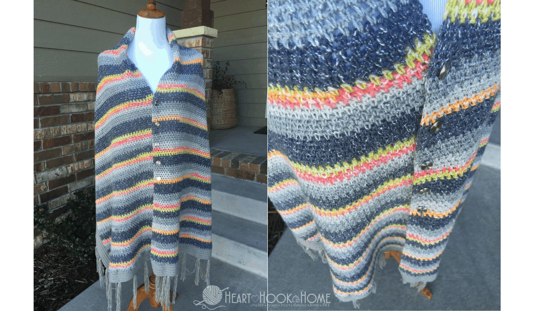 The Mimsical Wrap Crochet Pattern Heart Hook Home