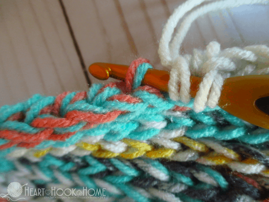 Crocheting In Third Loop : Third Loop Half Double Crochet (Video Tutorial)