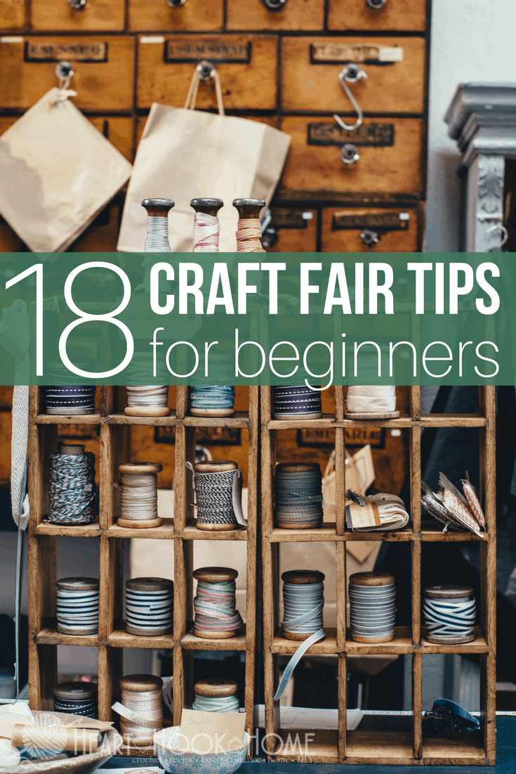 Craft fair tips for beginners how to run a successful for Craft ideas for craft fairs