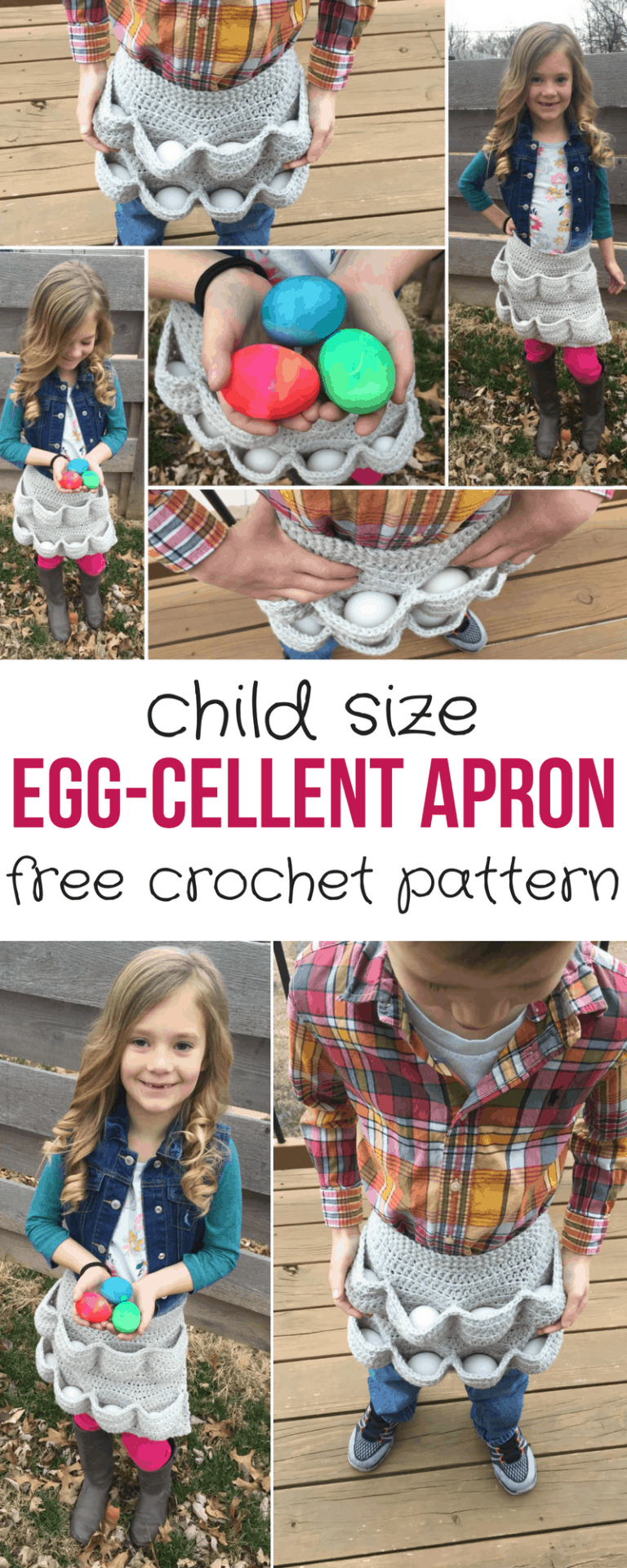Egg-cellent Child Size Egg Gathering Apron