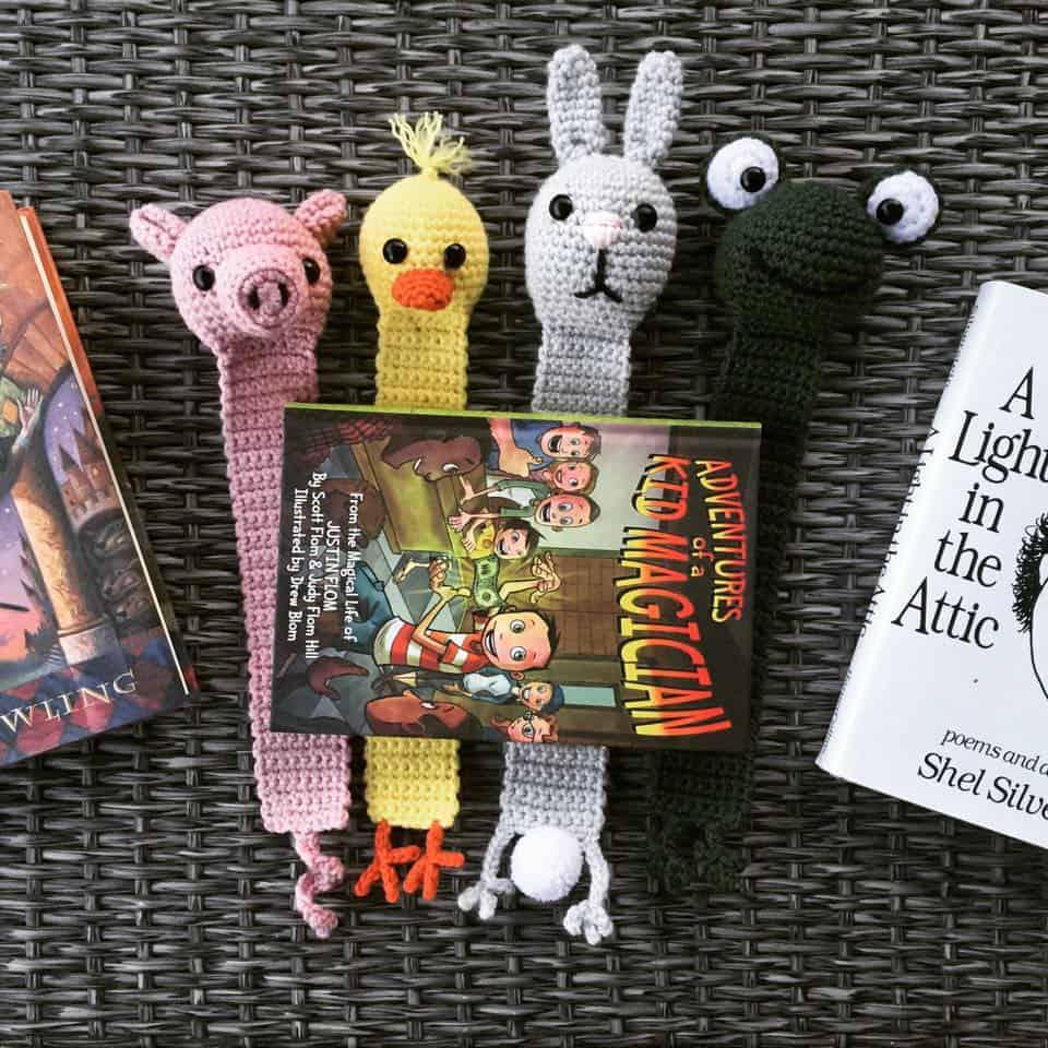 Animal Far Bookmark Crochet Patterns
