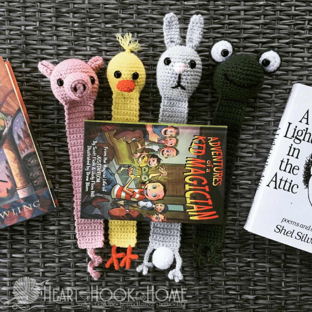 Animal Bookmark Crochet Pattern