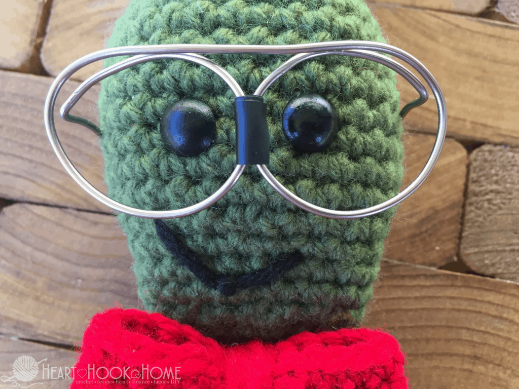 Nerdy Bookworm Crochet Pattern