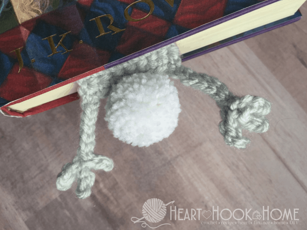 Bunny Bookmark Crochet Pattern