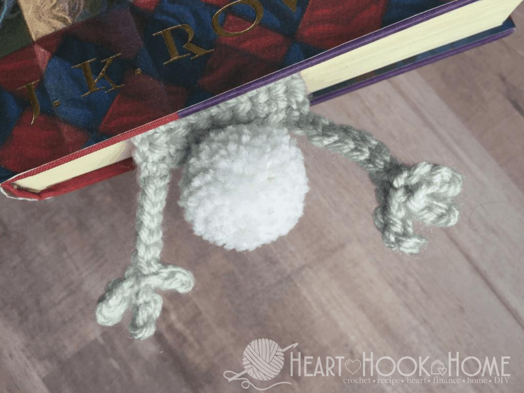 Bunny Bookmark Crochet Pattern