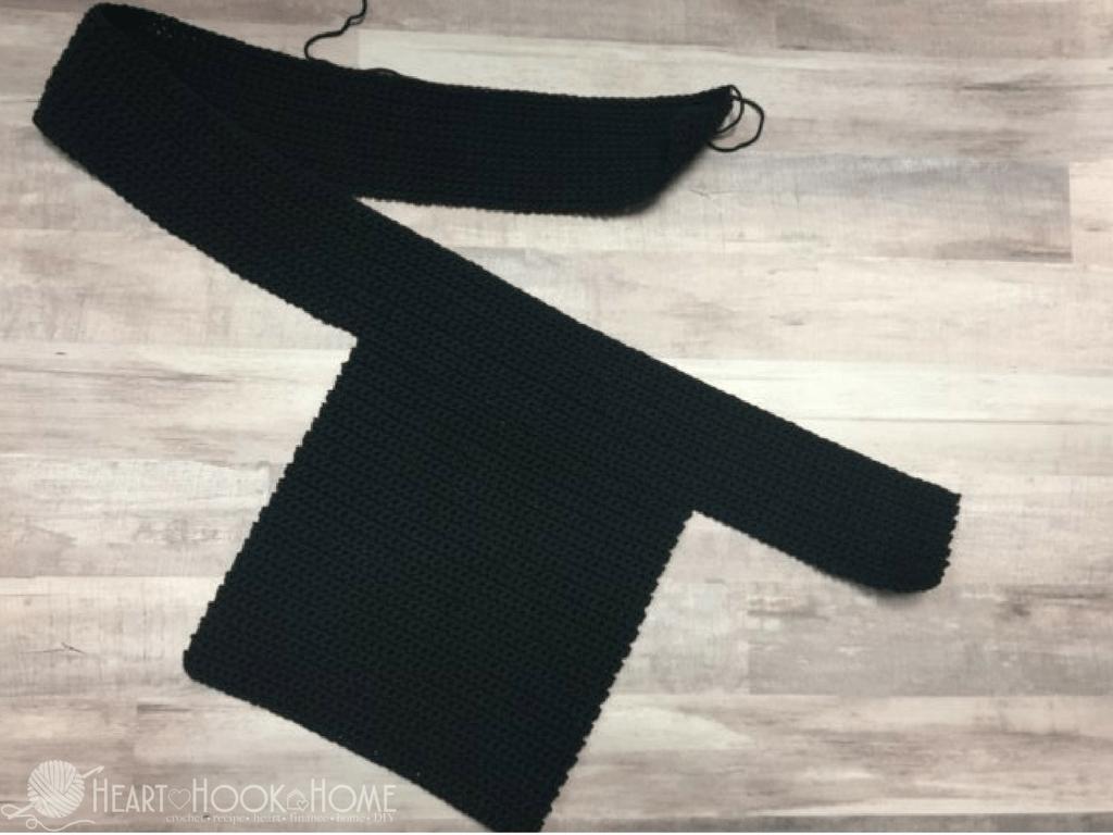 Slim Fanny Pack Crochet Pattern