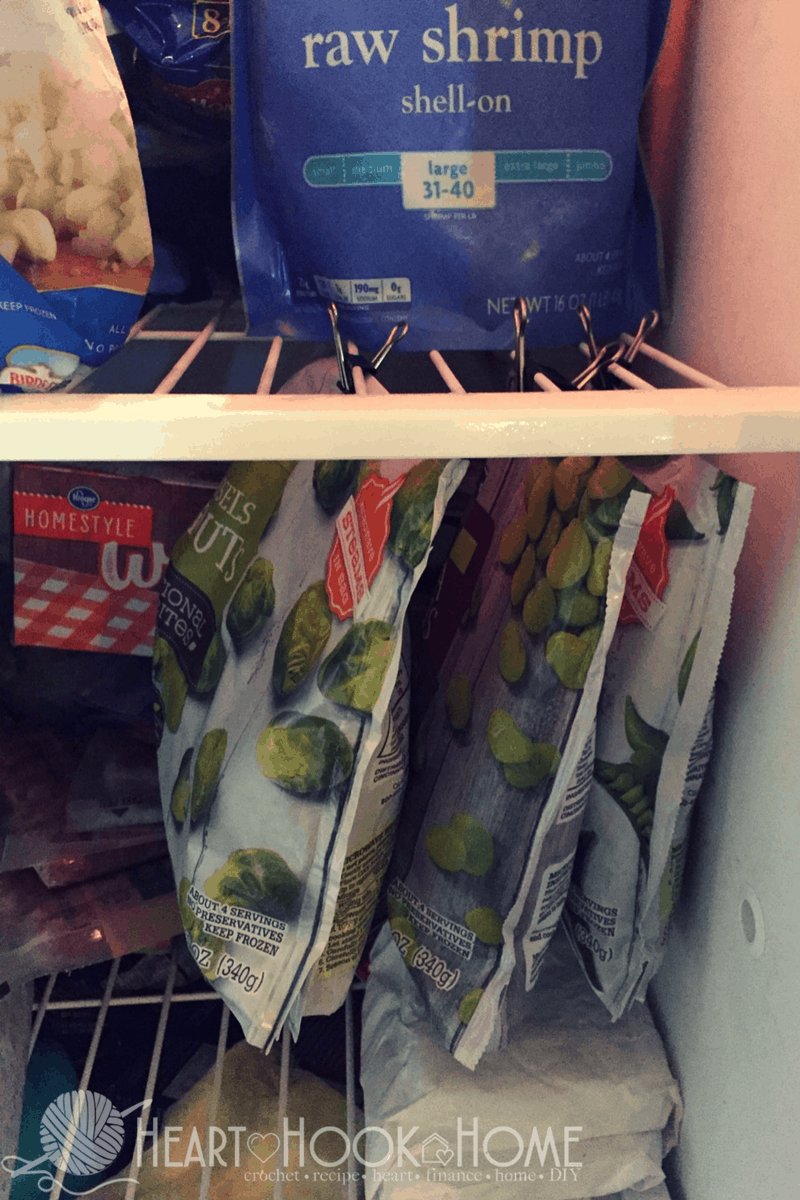 Getting more Freezer Storage out of your Space