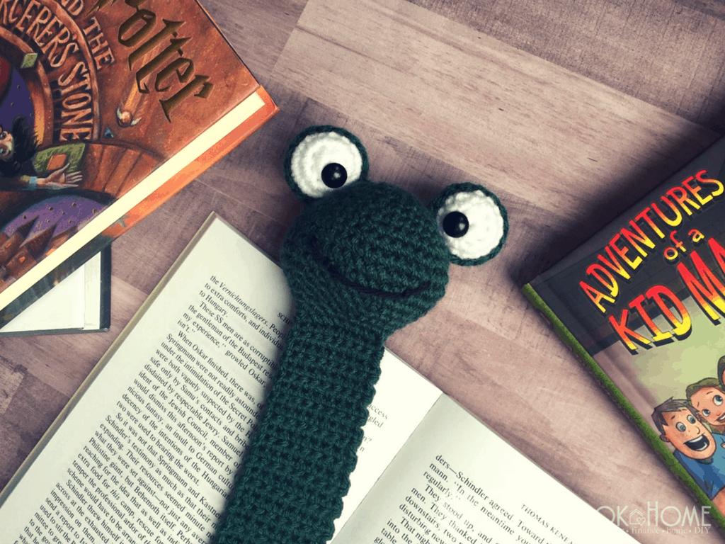 Frog Bookmark Amigurumi Crochet Pattern