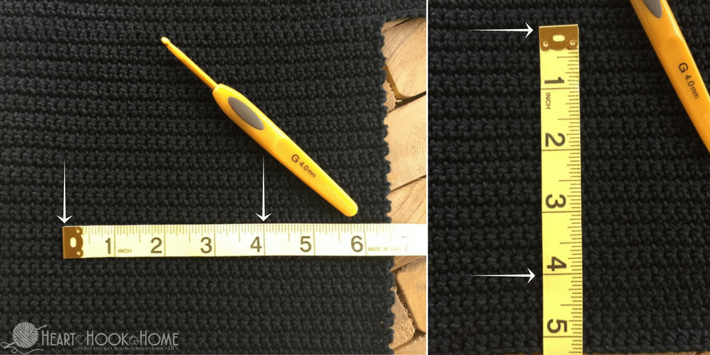 How to Measure Crochet Gauge