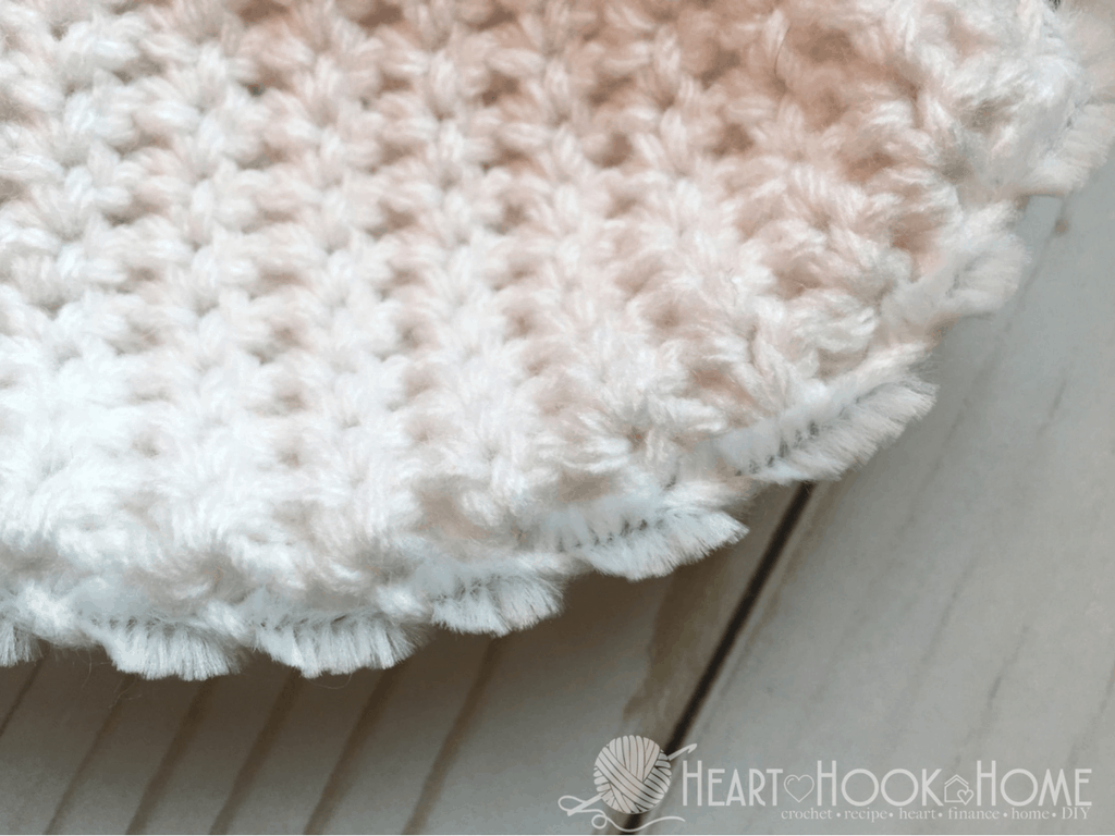 Adding Pipe Cleaner to Crocheted Ears