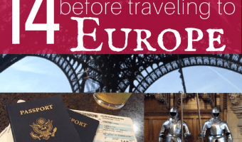 14 Tips for Planning a European Vacation on The Cheap