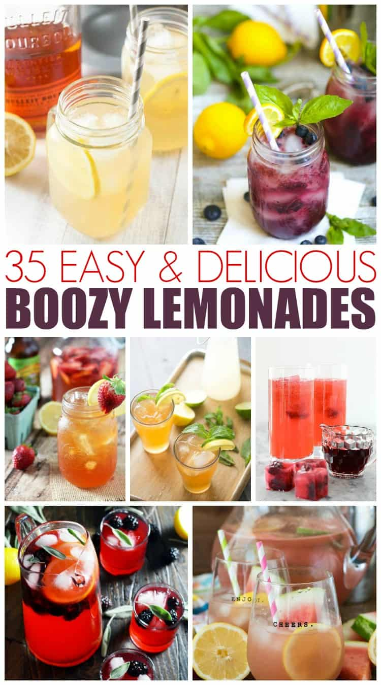 35 Spiked Lemonades to Try this Summer