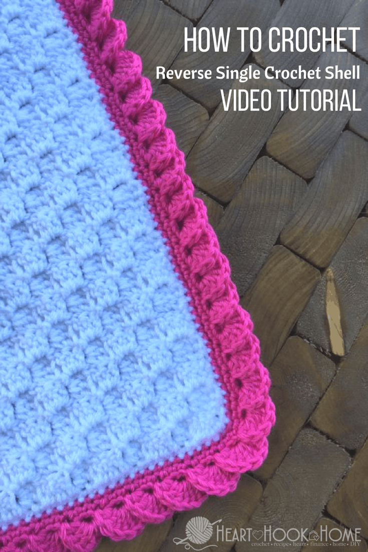 How to Crochet Borders: Reverse Shell Using Single Crochet