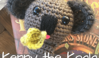 Kenny the Koala Bookmark Amigurumi Crochet Pattern