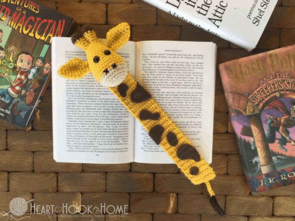 April the Giraffe Bookmark Crochet Pattern