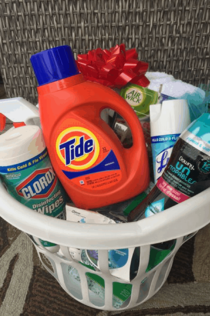 "Create a ""Dorm kit"" Graduation Gift"