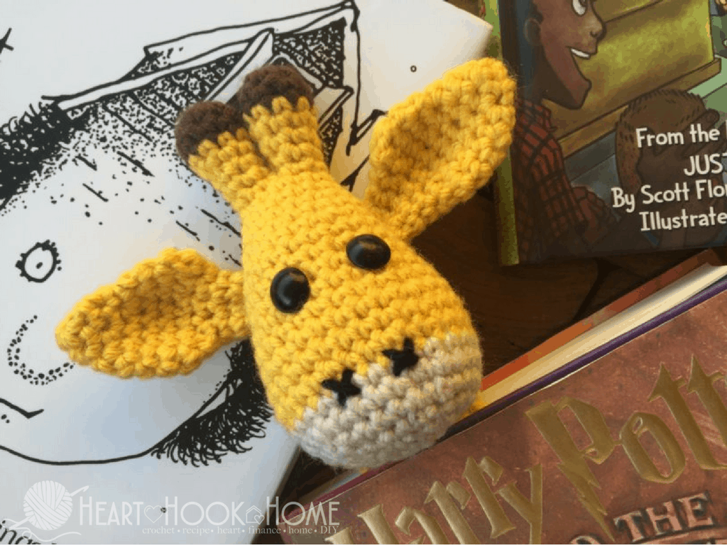 April's Baby Giraffe Crochet Pattern