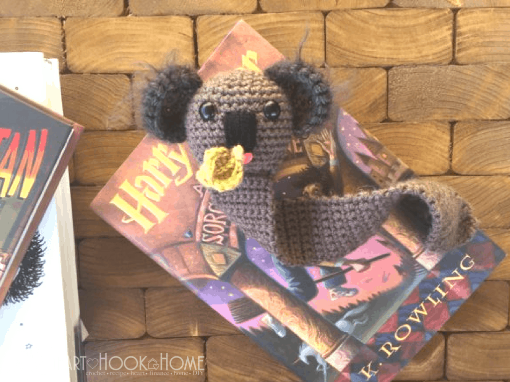 Koala Bookmark Crochet Pattern