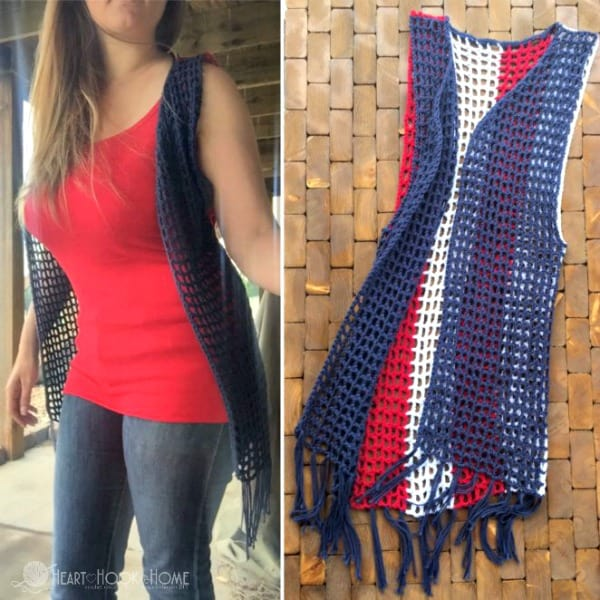 Crocheted patriotic vest pattern for teens and adults heart hook home crocheted patriotic vest pattern for teens and adults dt1010fo