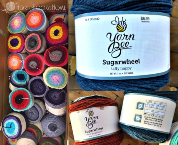 Hobby Lobby's NEW Sugarwheel Yarn Cakes an Independent Review