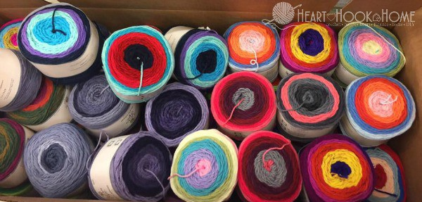 Hobby Lobby's NEW Sugarwheel Yarn Cakes are Ahhh-mazing!