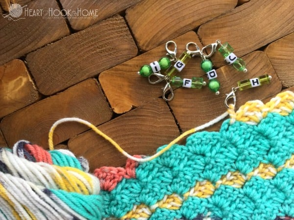 Hook Size Reminders for Crochet