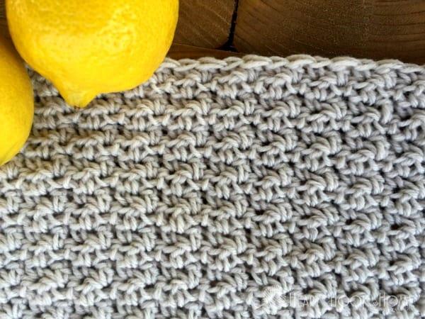 How to Crochet Lemon Peel Stitch