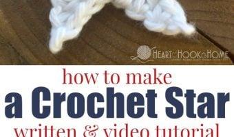 How to Make a Crochet Star: Free Star Crochet Pattern (Video Tutorial)