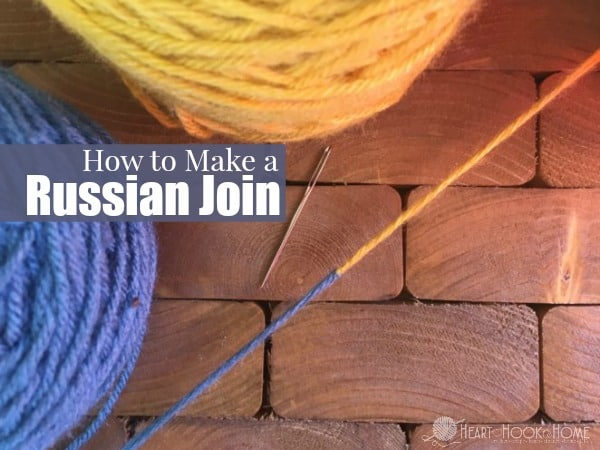 Knitting Russian Join Tutorial : How to russian join tutorial for crocheting and knitting