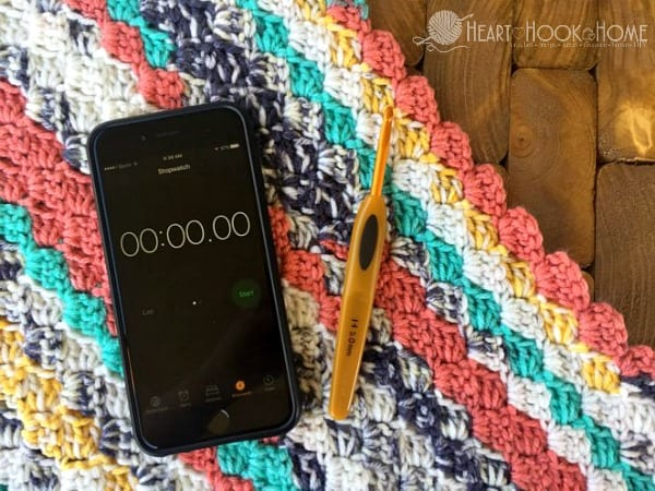 Reasons to Time Yourself While Crocheting