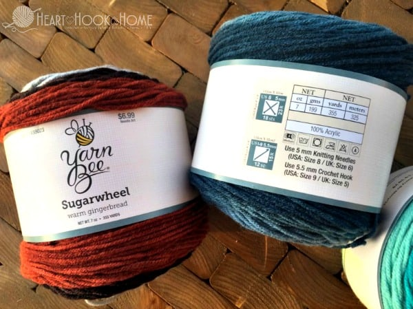 Sugarwheel Yarn Cakes from Hobby Lobby Specifications
