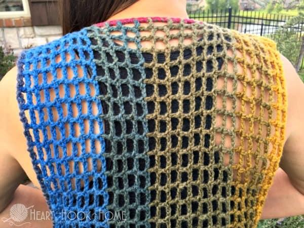 Easy Breezy Lightweight Summer Vest Crochet Pattern