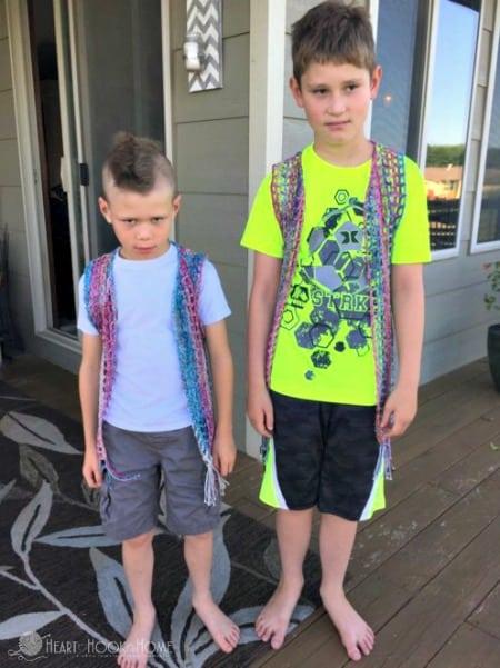 Boys Vest Crochet Pattern