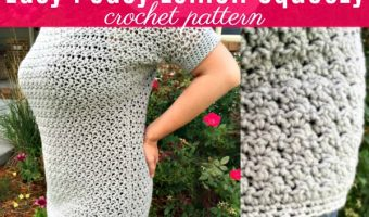 Easy Peasy Lemon Squeezy Pullover Crochet Pattern