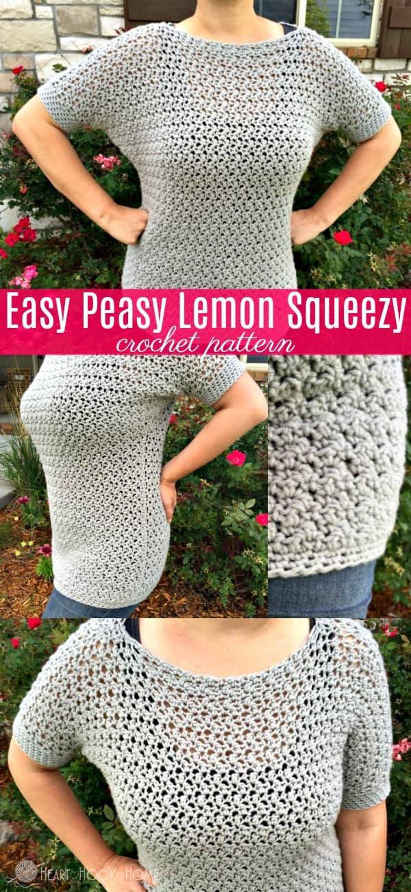Easy Peasy Lemon Squeezy Crochet Pattern by Heart Hook Home