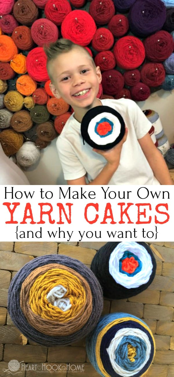 How to Make Your Own Yarn cakes and why you want to