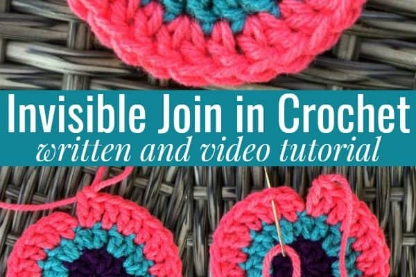 How to Make an Invisible Join in Crochet