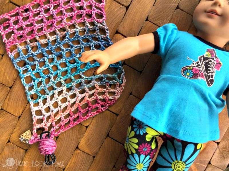 Lightweight Crochet Summer Vest in Child Sizes (American Girl, Toddler, 5-9 and 10-12 Year